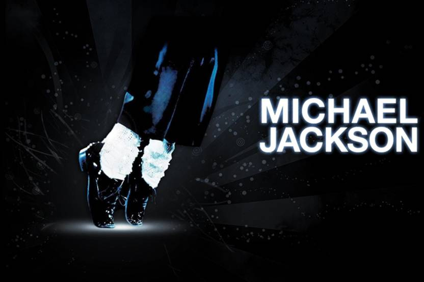 Michael jackson shoes socks pants Poster Paper Print  (18 inch X 12 inch, Rolled) Paper Print