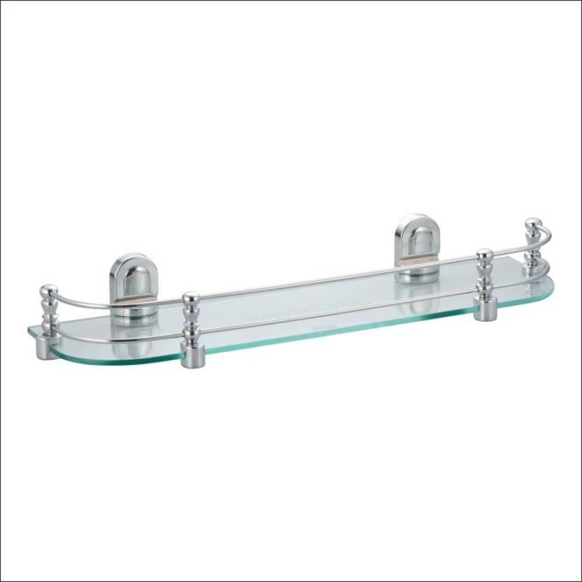 Kamal Glass Shelf Royal - Straight 18 Inch Glass Wall Shelf Price in ...