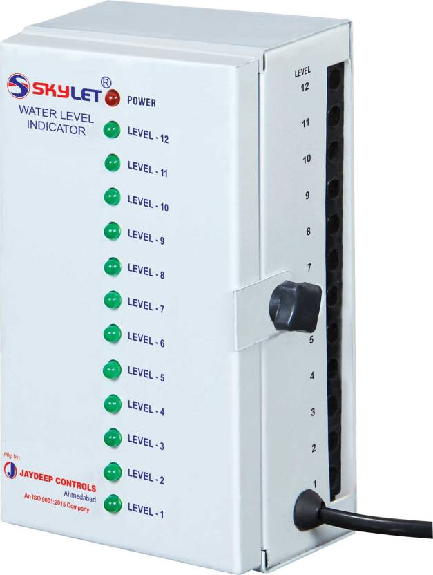 SKYLET WLC-112 Water Level Indicator, Overhead Tank Indicator, Led ...