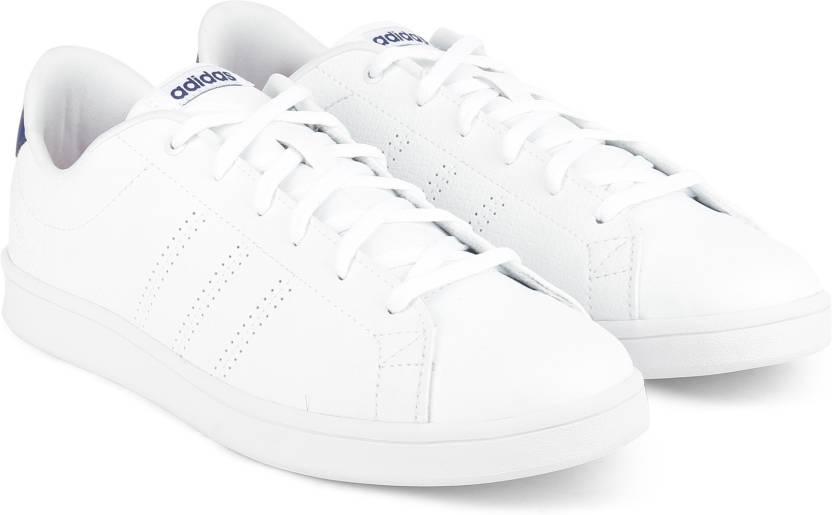 finest selection 312a1 3ec48 ADIDAS NEO ADVANTAGE CL QT W Sneakers For Women (White)