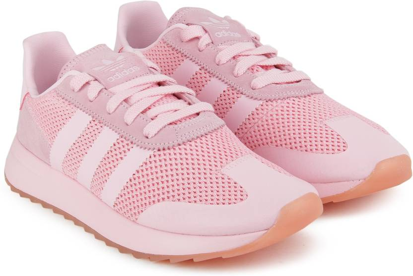 online store 2d110 d6f7d ADIDAS ORIGINALS FLB W Sneakers For Women (Pink)