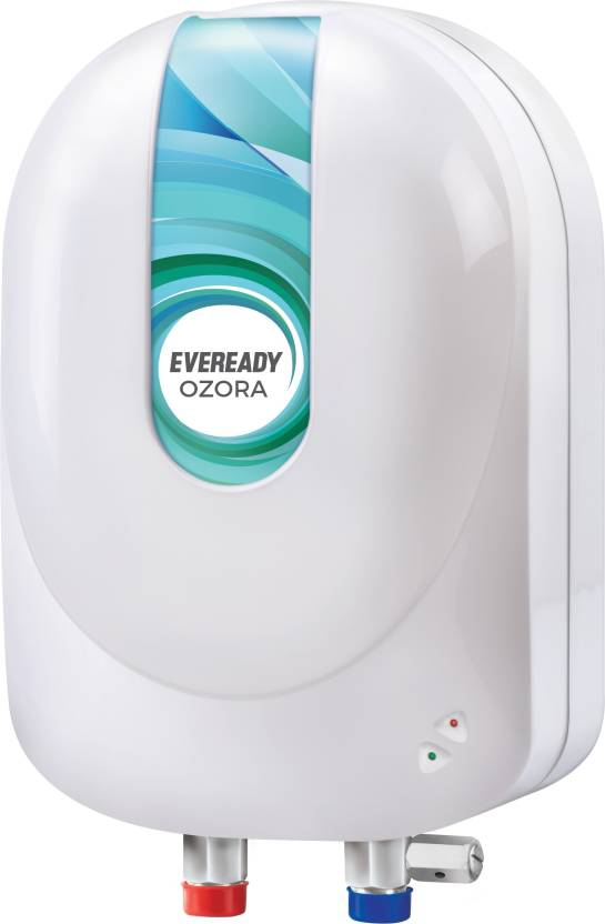 Eveready 3 L Instant Water Geyser  (White, Ozora)- 27% OFF