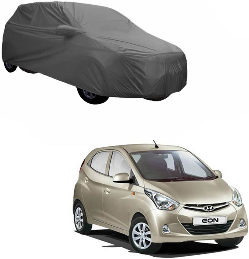 AdroitZ Car Cover For Hyundai Eon (With Mirror Pockets)