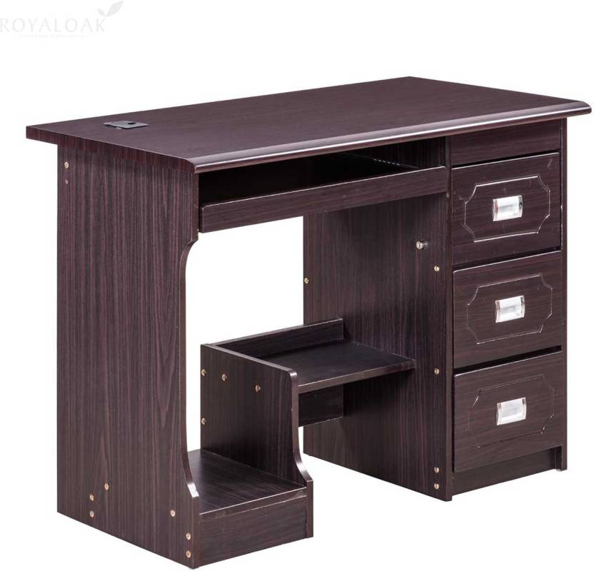 Royaloak amber engineered wood computer desk price in for Buy furniture online bangalore