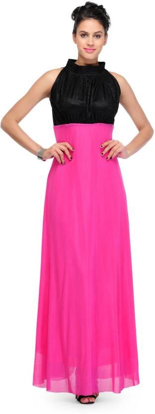 Yogalz Women's Bandage Pink Dress