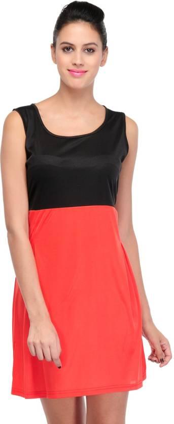 Yogalz Women's Bandage Red Dress