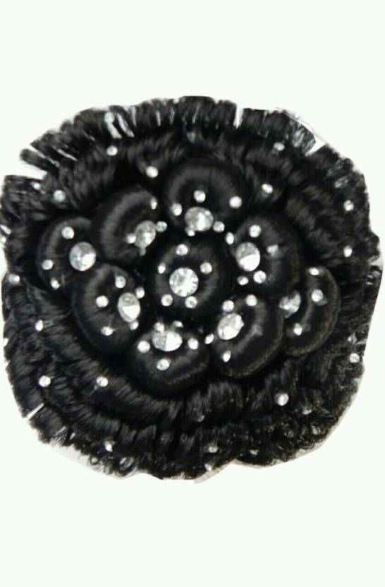 Tahiro Black Party Wear Juda Hair Extension Price In India Buy