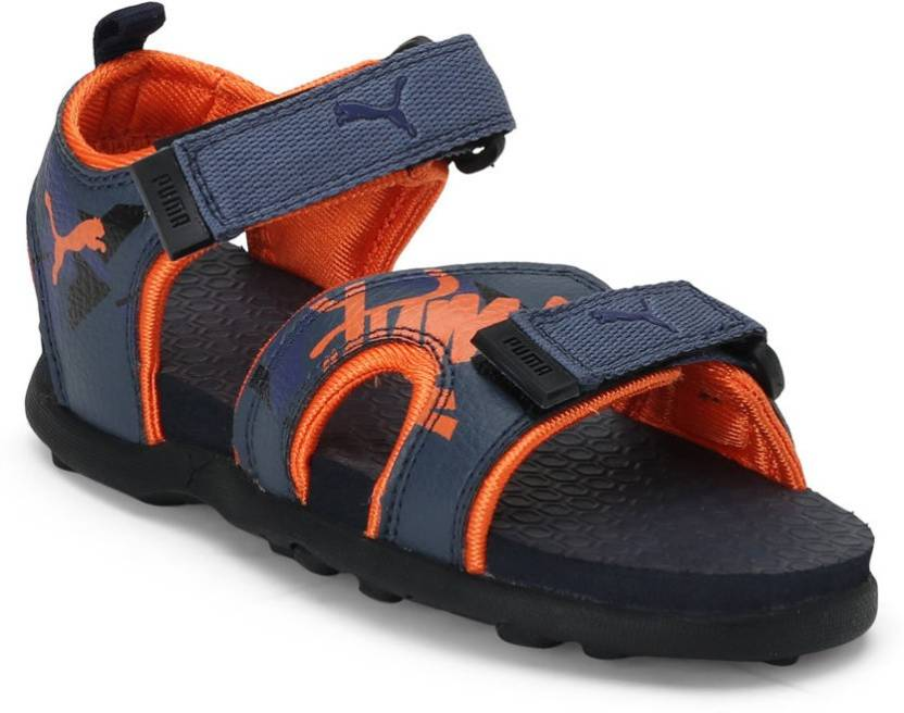 a47f7cf96c7f Puma Boys   Girls Velcro Sports Sandals Price in India - Buy Puma ...