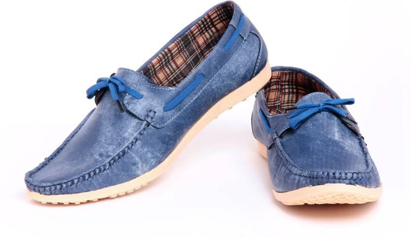 9d01624d0c4 Foot n Style fs271 Denim Loafers For Men - Buy Blue Color Foot n ...