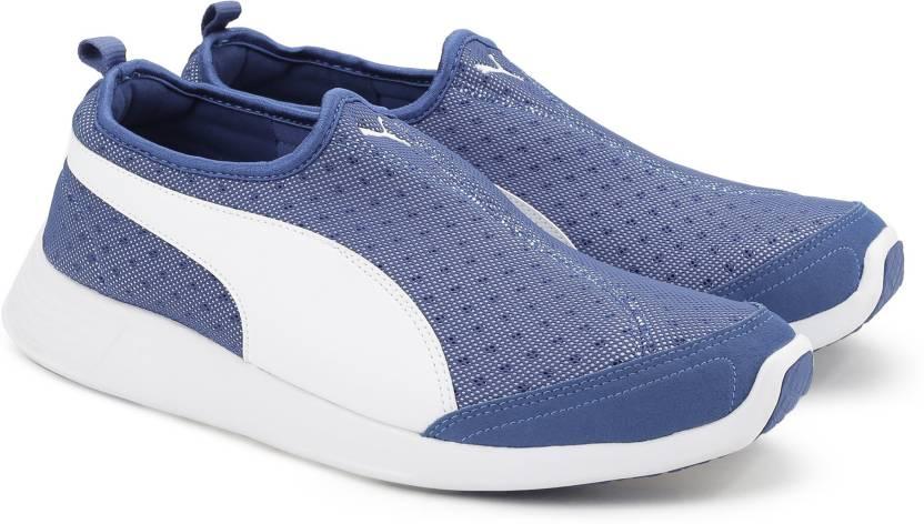 40b7cc4cbd99 Puma ST Trainer Evo Slip-on DP Running Shoes For Men - Buy TRUE BLUE ...