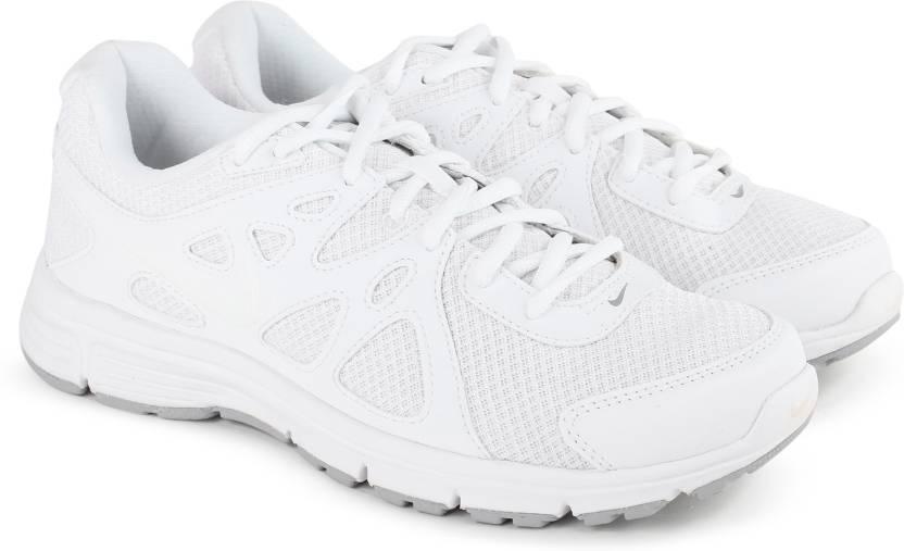 nike rivoluzione 2 msl scarpe da corsa per gli uomini comprano bianco / lupo bianco