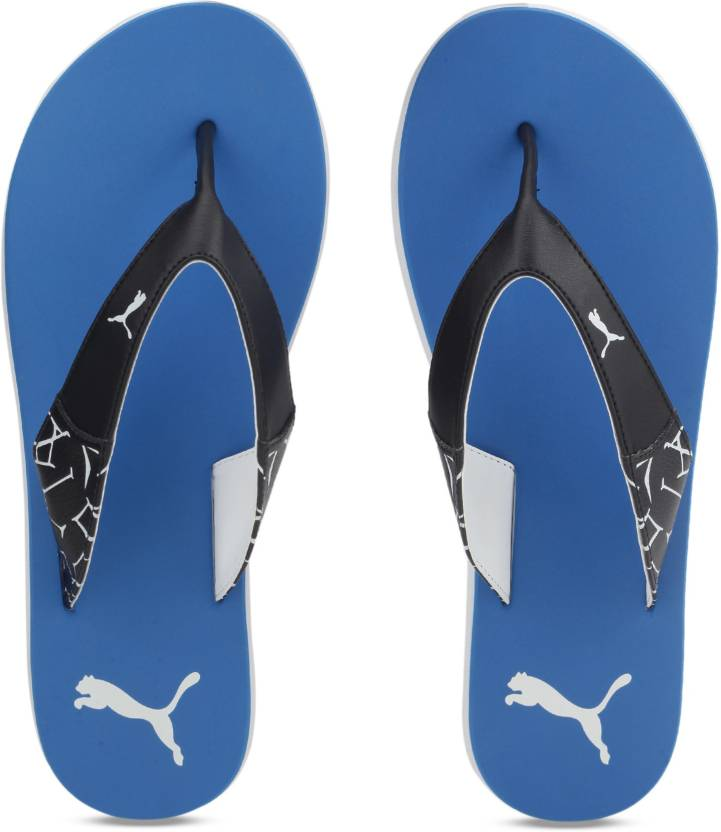be5e65eb4df1 Puma Winglet Slippers - Buy Lapis Blue-Black White Color Puma Winglet  Slippers Online at Best Price - Shop Online for Footwears in India