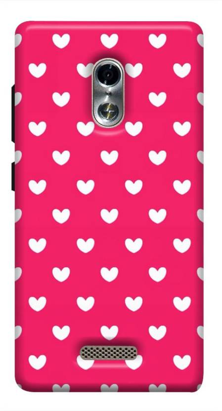 buy online d4d7b c8d2c HASHLAND Back Cover for Itel 1520