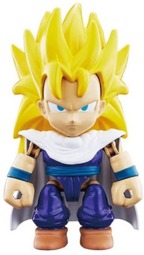 242518be Bandai Dragon Ball Z Merchandise: DBZ Super Saiyan 3 Son Gohan Snap Heroes  Action Figure - 6 Inches … (Multicolor)
