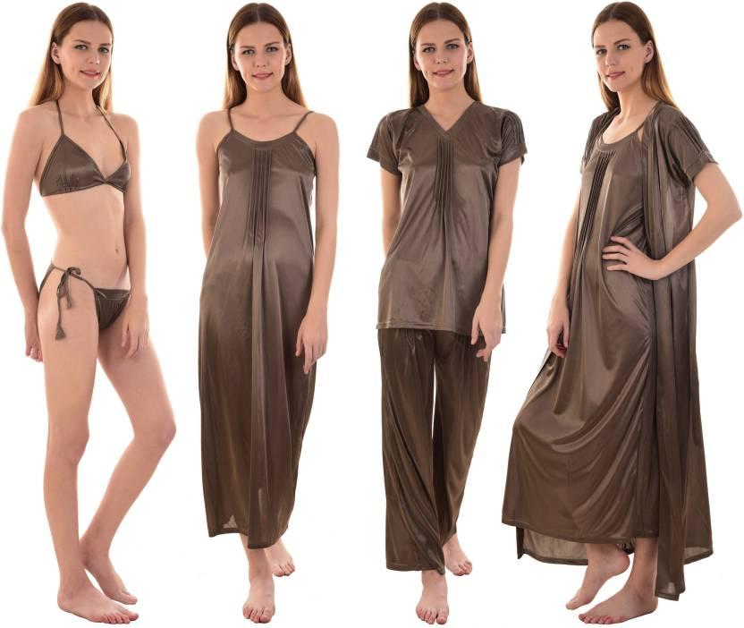 200b3d8a14 Senslife Women s Nighty - Buy Senslife Women s Nighty Online at Best ...