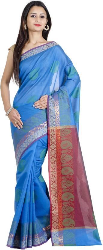 Chandrakala Self Design Banarasi Handloom Art Silk Saree