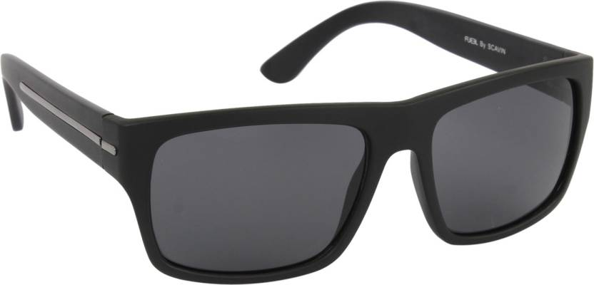 bd034e7261 Buy Fueel Retro Square Sunglasses Grey For Men Online   Best Prices ...