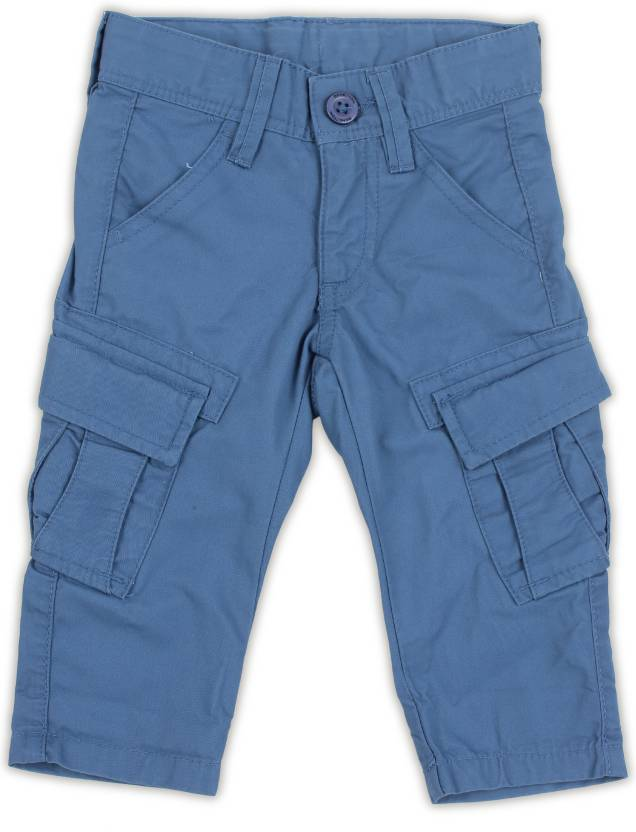 United Colors of Benetton. Regular Fit Boys Blue Trousers