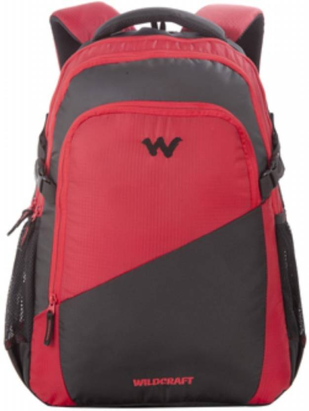 8b78be4873 Wildcraft Traverse 2.1 Red 21 L Laptop Backpack Red - Price in India ...