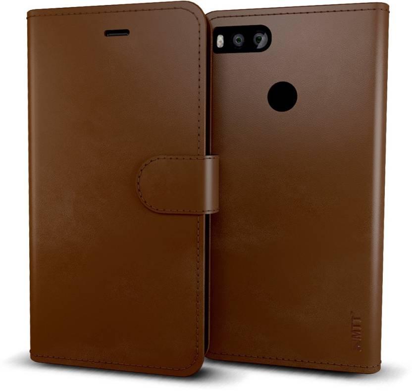 new concept 14b36 26bf6 MTT Flip Cover for Mi A1