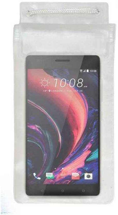 ACM Pouch for Htc Desire 10 Pro Transparent, Waterproof, Silicon