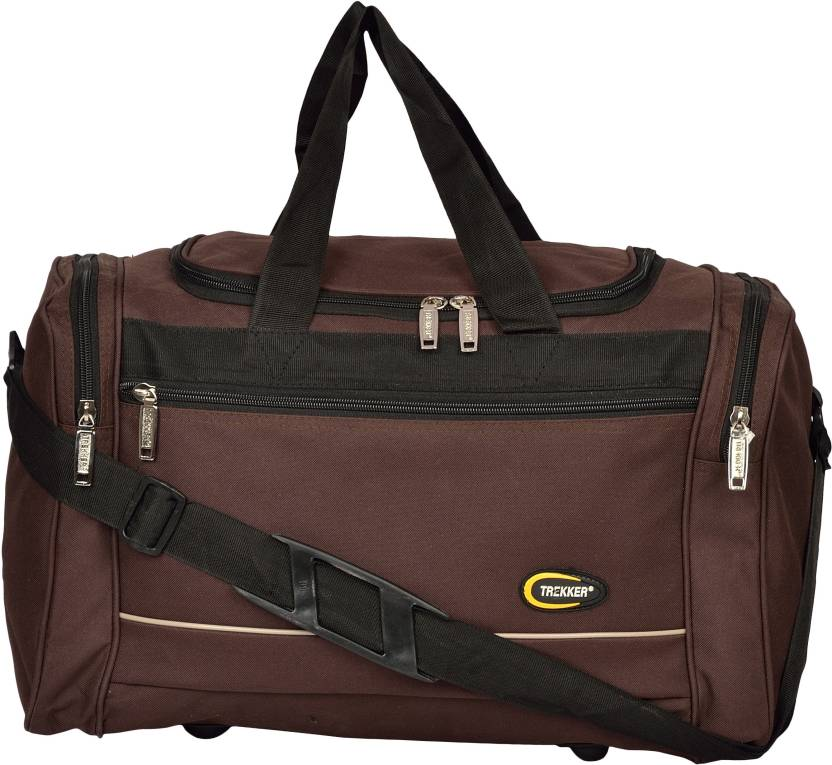 7d0fd154fec4 Trekker DFMSQ(M)BR Travel Duffel Bag Brown - Price in India ...