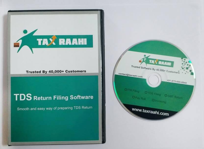 Taxraahi Tds Return Filing Software Taxraahi Flipkart Com