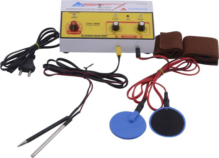 ACP ACUPRESSURE 2 Channels Acupuncture Stimulator Muscle