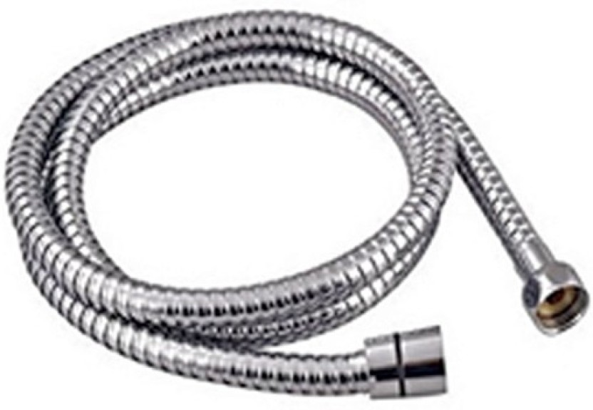 Prestige 1mtr SS Flexible Shower Tube Pipe Faucet Set