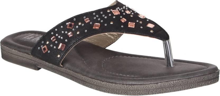 8a88a133495b La Bella Women Black Sandals - Buy La Bella Women Black Sandals ...