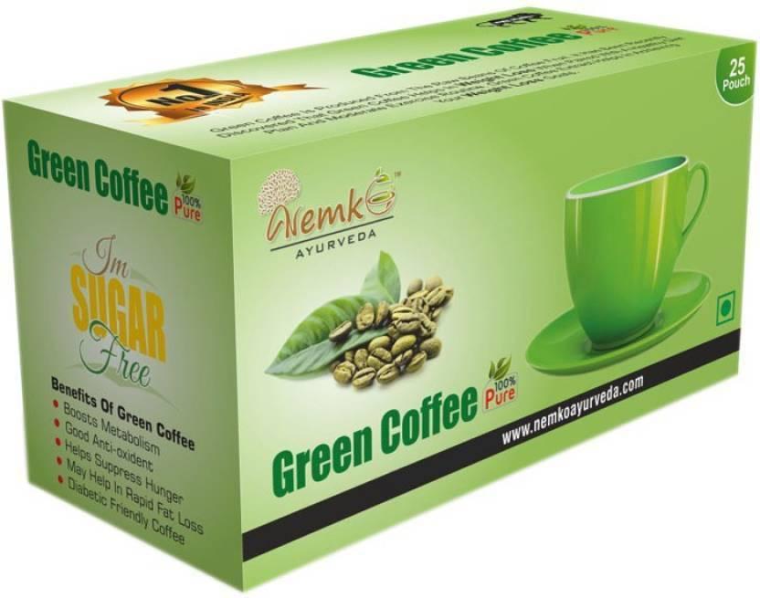 Nemko Ayurveda Green Coffee Choco Tea Bags