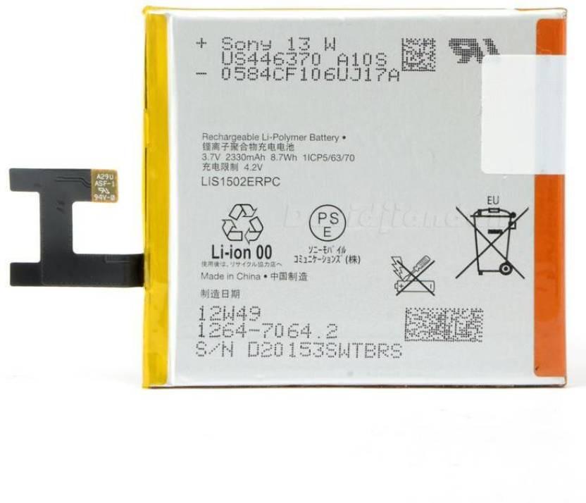 Sony Ericsson Xperia Z C6603 C6602 Lt 36i Lis1502erpc Battery Sony