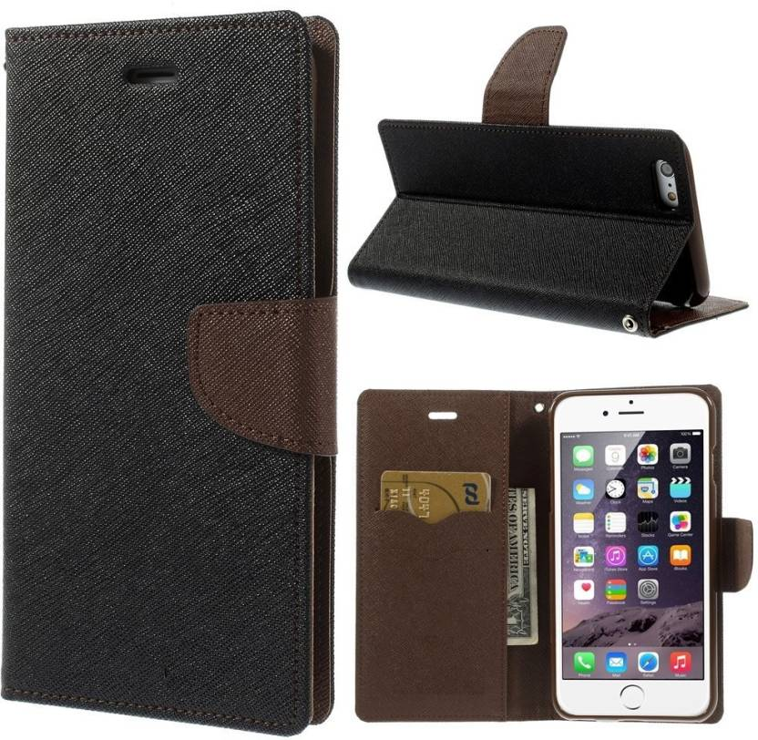 136297b11a Spicesun Flip Cover for Samsung Galaxy J7 Max (Brown, Black, Artificial  Leather)
