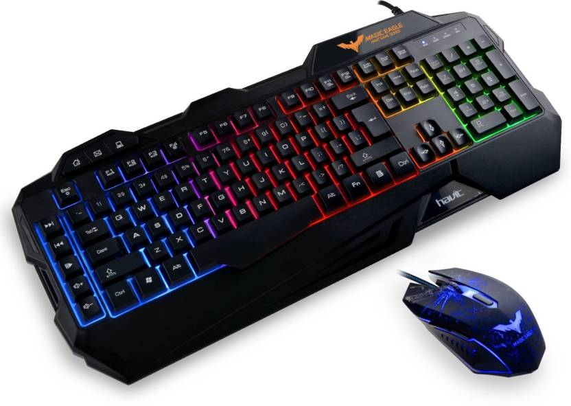 b334293adc8 Havit Wired Optical Gaming Mouse With Wired USB Gaming Keyboard Combo Set  Price in India - Buy Havit Wired Optical Gaming Mouse With Wired USB Gaming  ...