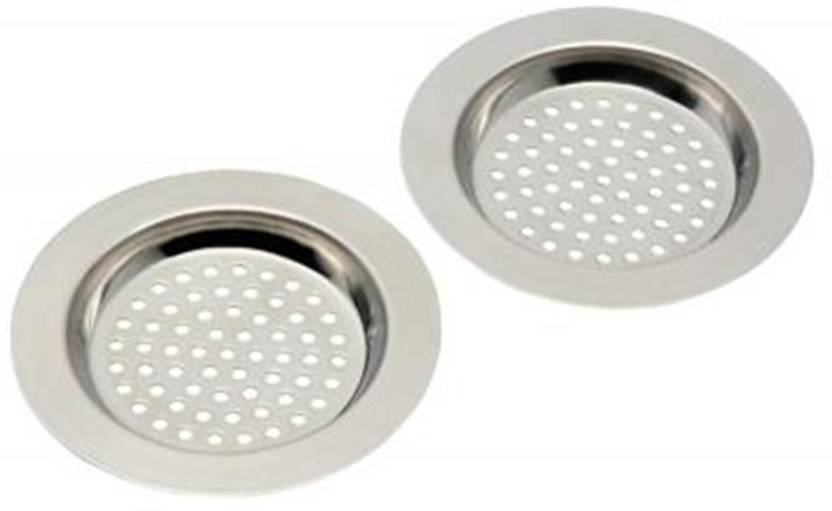 Skywalk Kitchen Sink Stainless Steel Push Down Strainer