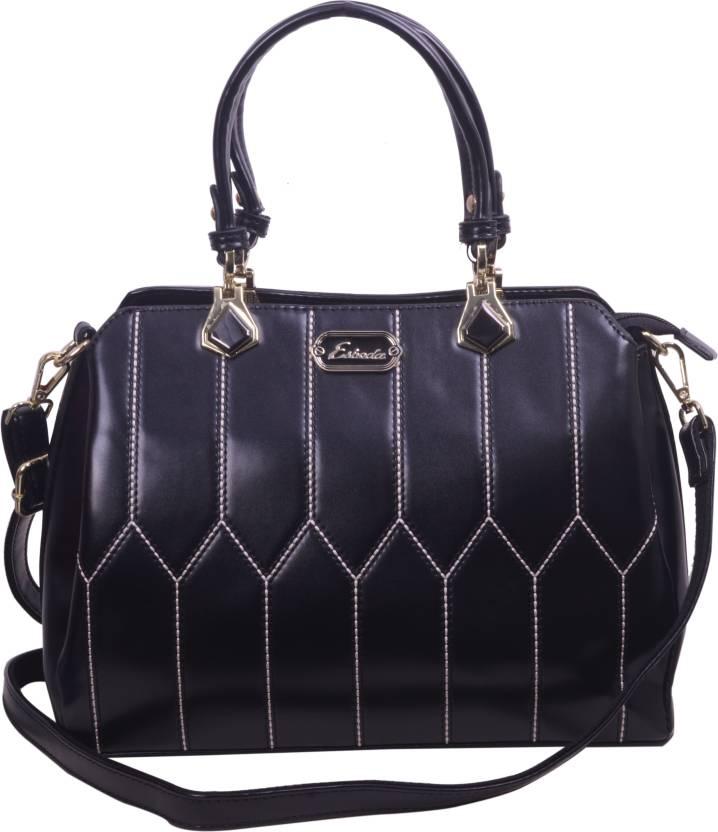 00004bcd0a Buy ESBEDA Hand-held Bag Black Online @ Best Price in India ...