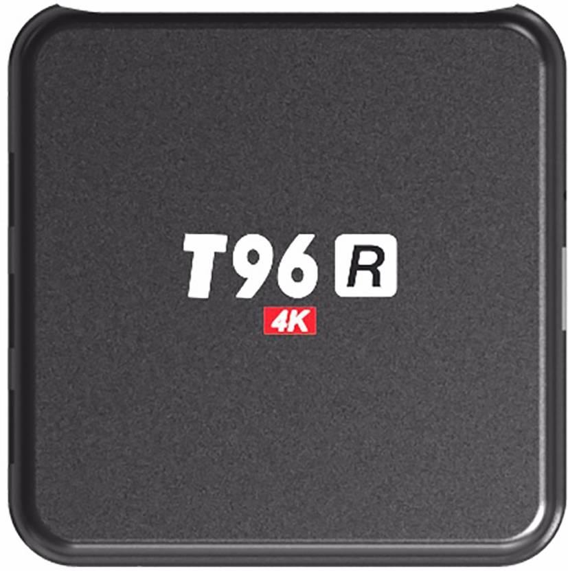 T96 R Android 7 1 Internet TV Box 2GB RAM 8GB ROM Quad Core Set Top Boxes  XBMC Kodi Pre-installed WiFi 4K 1080P 64bit Media Streaming Device