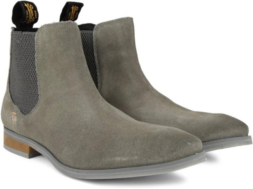 ec6cc3cccd6 Superdry METEOR CHELSEA Boots For Men