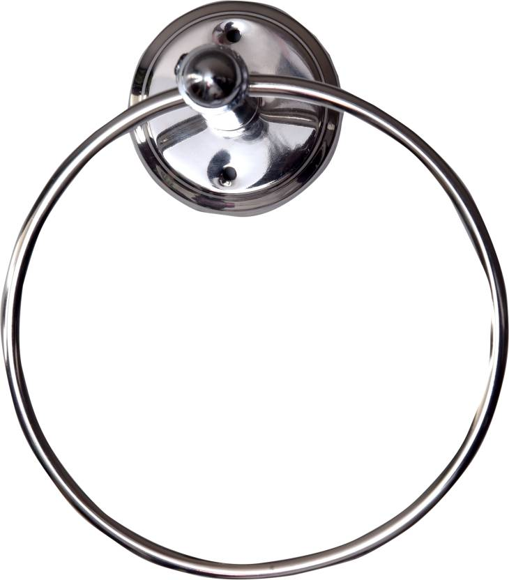 SSS Round Towel Ring Light Material SS Towel Holder Price