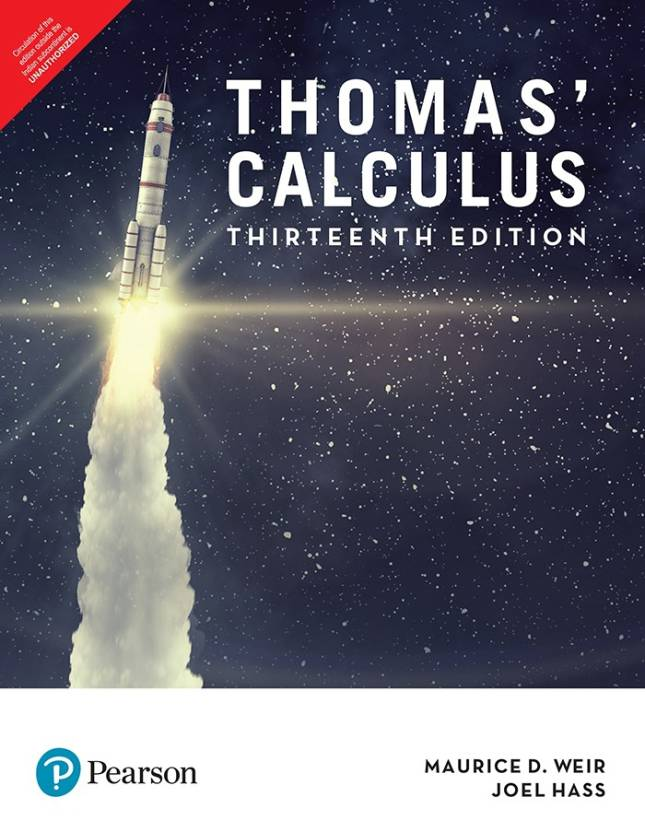 Thomas calculus thirteenth edition buy thomas calculus thomas calculus thirteenth edition fandeluxe Image collections