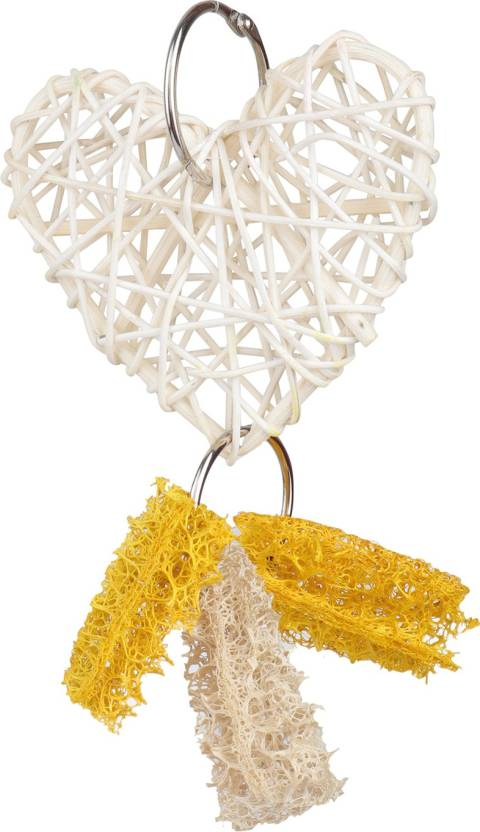 Sri High Qaulity Colorful Heart Shape Wind Chimes Toy For Birds