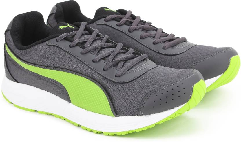 0b97e7114dc Puma Rapple Running Shoes For Men - Buy ASPHALT-LIME PUNCH-BLACK ...
