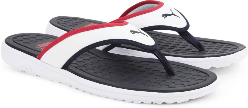 d053f0e33185 Puma Lycus Slippers - Buy Peacoat-High Risk Red-White Color Puma ...
