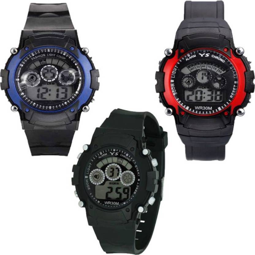Fashion Gateway 7 Light Kdis Watch Best For Birthday Gift And
