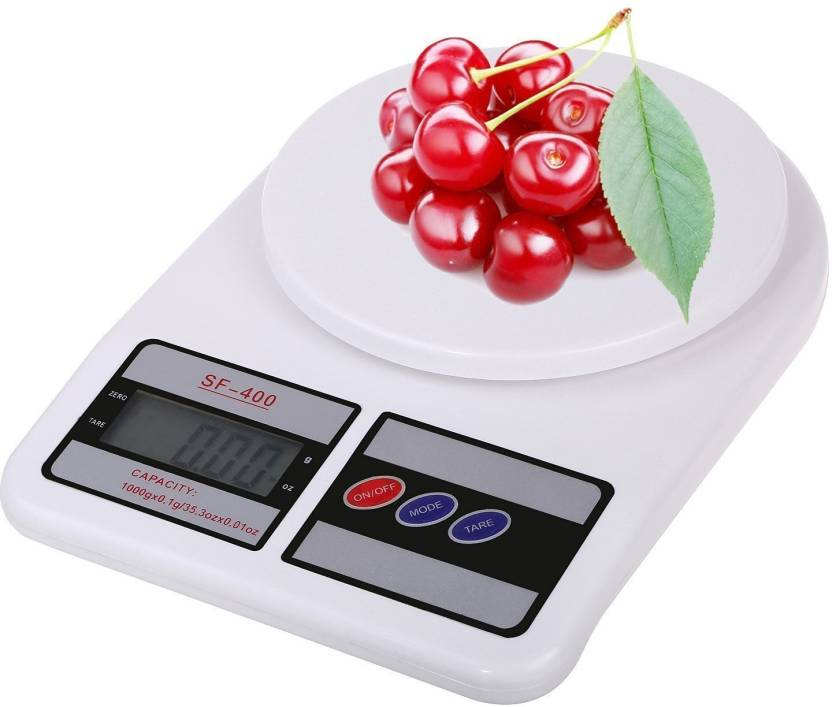 6624494fe XHAIDEN Electronic Kitchen Digital Weighing Scale 10 Kg (1 Year Warranty) Weighing  Scale (Multicolor)