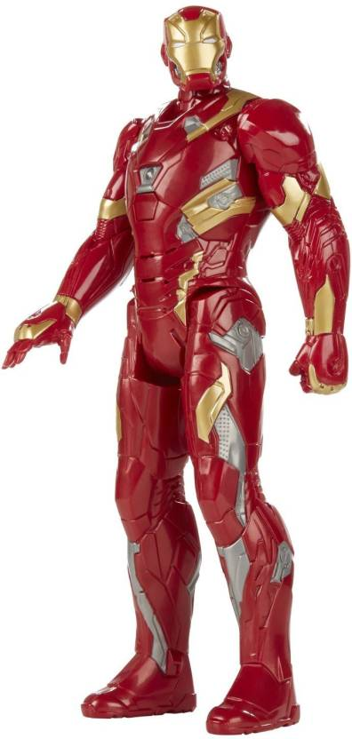 Pepperonz Big Size Super Power Electronic 12 Inch Tall Action Figure Model  Toy - Speech Sound Effect - Iron Man