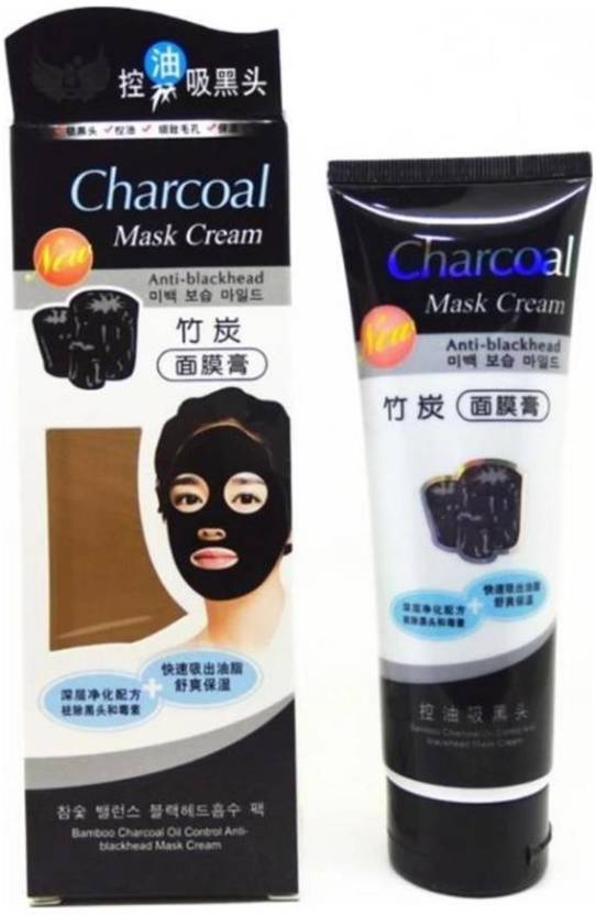 ca67a2cbe charcoal CHARCOAL WHITENING ANTI-BLACKHEAD MASK - Price in India ...