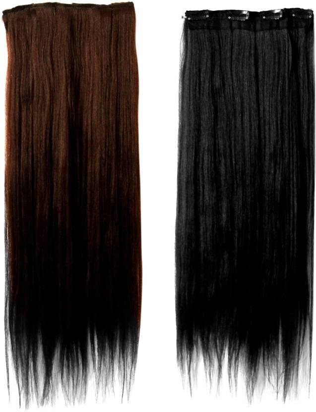 Daiku Set Of Two Hair Extension Hair Extension Price In India Buy