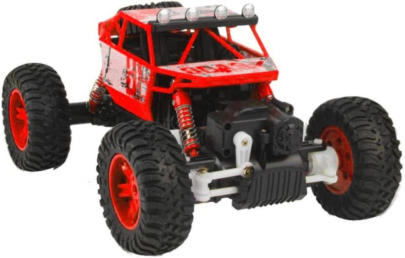 da6684c68 Miss & Chief Rock Crawler All-wheel-drive R/C Car with light - included  battery and charger (Red)