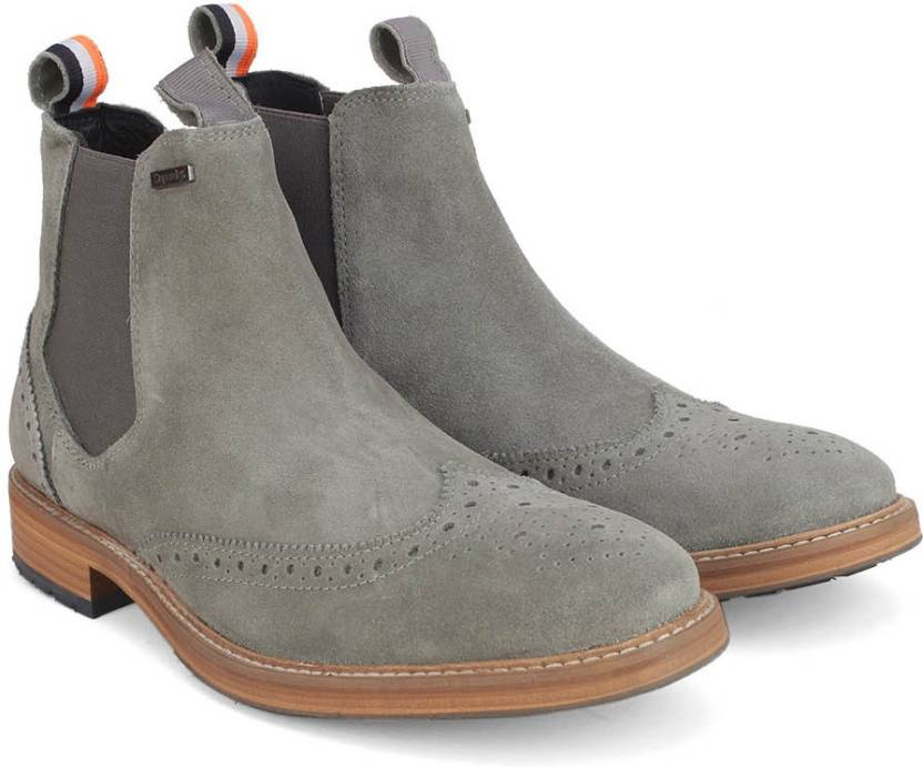87eb1035ab4 Superdry BRAD BROGUE CHELSEA Boots For Men
